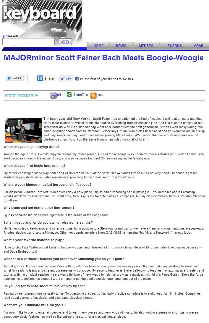 Piano hallelujah shrek piano sheet music : GNMC in the News | Great Neck Music Conservatory