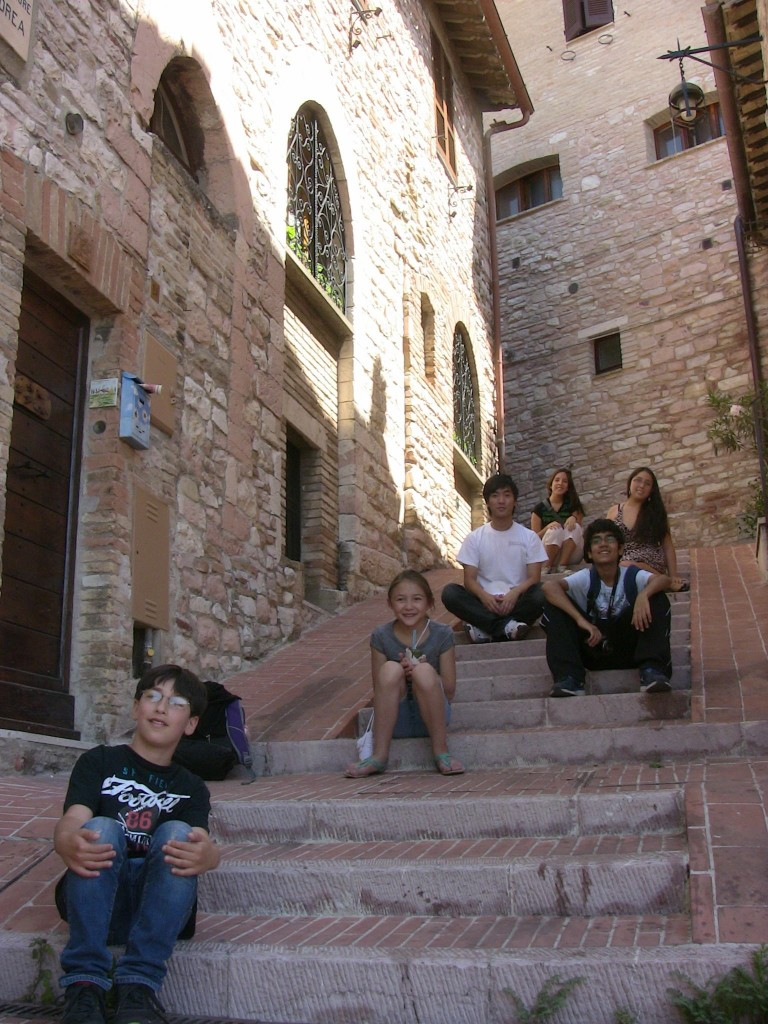 9 Steps of Assisi!